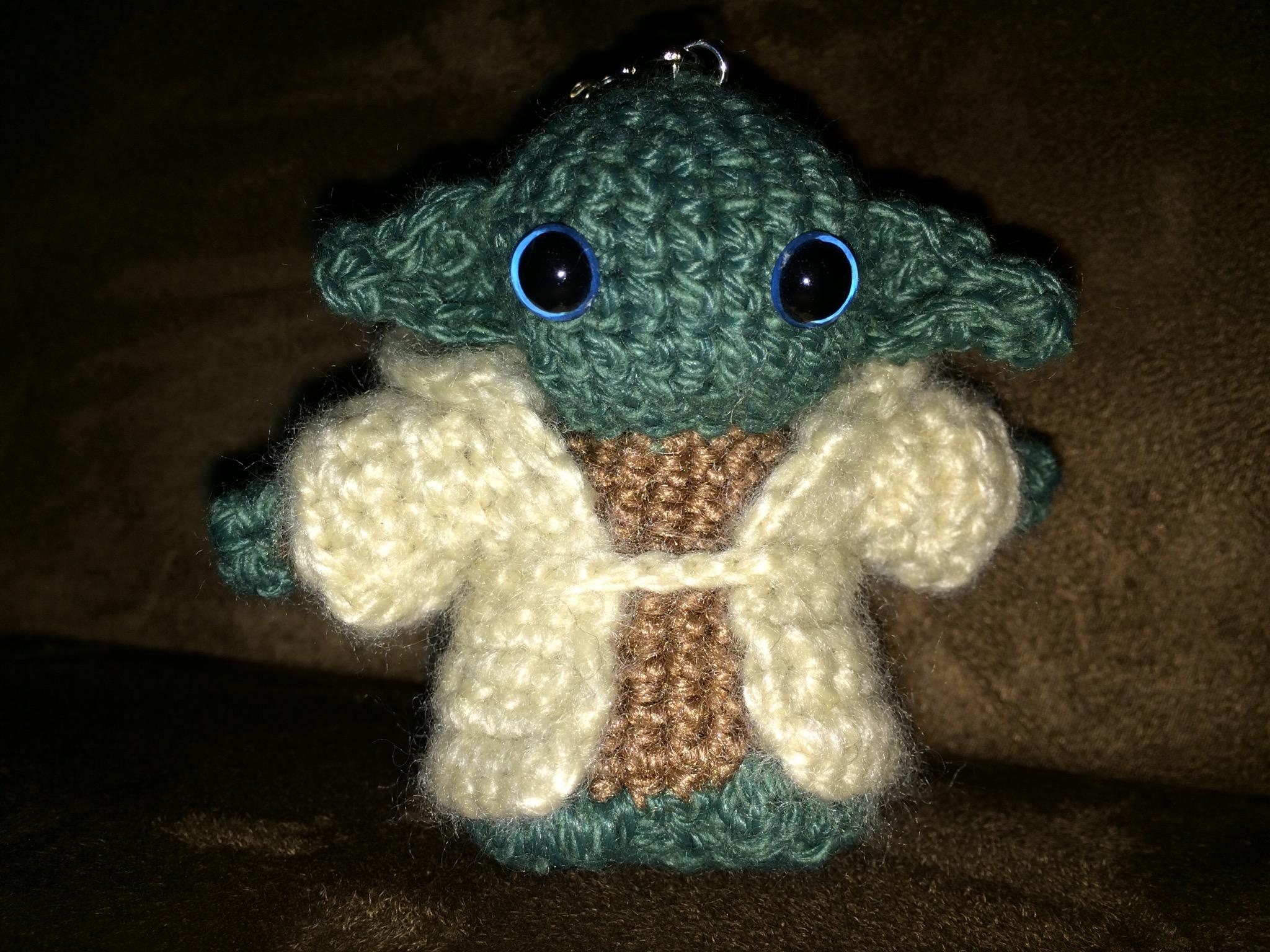 Yoda Ich Gehäkelt Hab Kreativcharakter